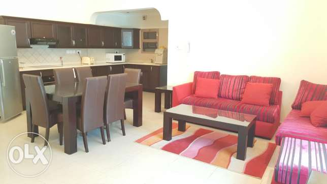 Burhama/ 2 BHK apartment with balcony and gym