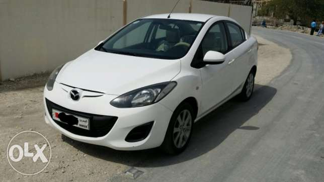 mazda 2 model 2013 no accidant