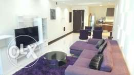 For rent brand new Two BR flat / Gym + pool