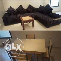 6 seater sofa set wd tea table for sale bd 45.