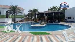 ADLIYA 4 Bedroom SEMI Furnished Two Storey Villa for rent