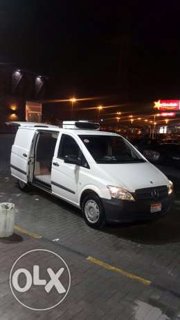 chiller van benz as new for sale or for rent with driver