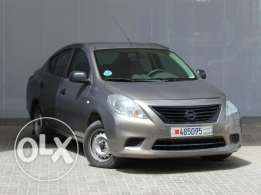 Nissan SUNNY 2014 silver color for sale