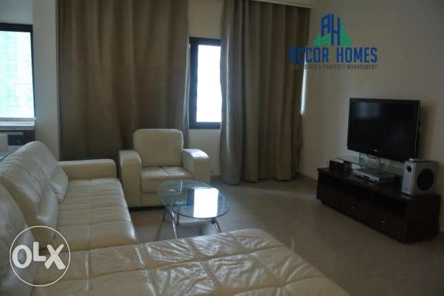 Fully furnished, Modern style 2 BHK flat in Juffair at 450/month