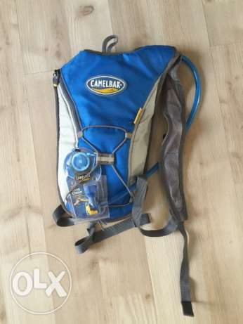 Camelbak hydration pack, blue