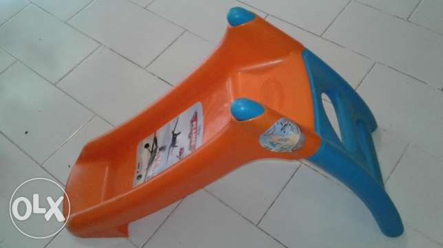 Toddler Water slide (Smoby Planes XS slide, from Toys R Us)