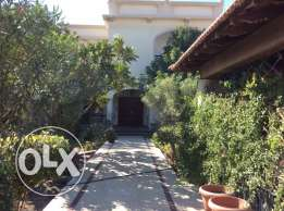Very beautiful 4 bedroom semi furnished compound villa with garden
