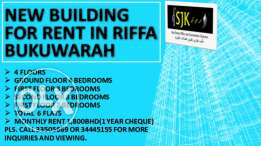 Building for rent in Bukuwarah Riffa