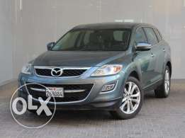 Mazda CX9 Full option 2011 Silver For Sale