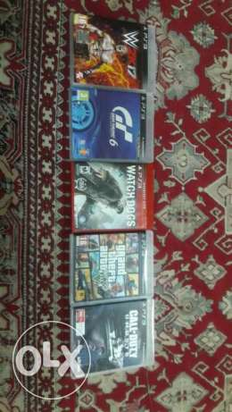 5 Brand New PS3 GAMES For Sale