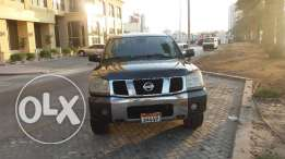 Nissan Titan V8 Pickup Double Cabin Manual Transmutation 2004 Model