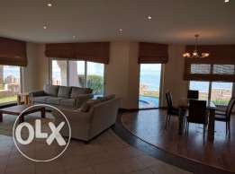 4 Bedroom luxury fully furnished villa flat for rent with sea view