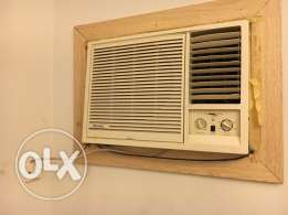three window type ACs of 2 Ton each. Pearl Brand