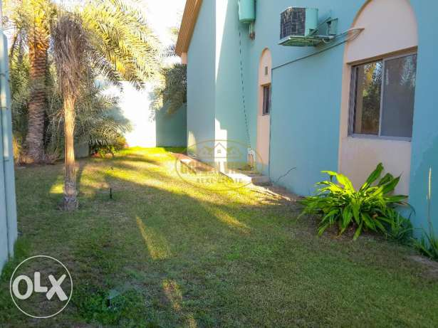 3 Bedroom semi furnished villa with private garden