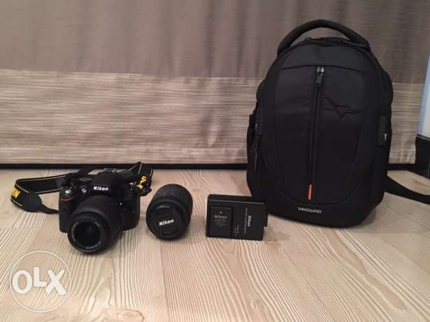 For Sale - Nikon Digital SLR Camera D5100 + extra Lens 55-200 mm + Ba