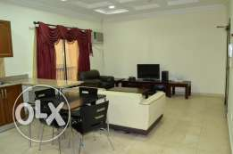 Fully furnished flat near Asil Super market Um al hassam