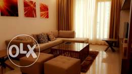luxury 2 bedroom fully furnished in new hidd/with facilities