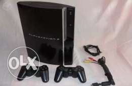 PS3 For sale with 2 controllers in good condition (hacked ability)