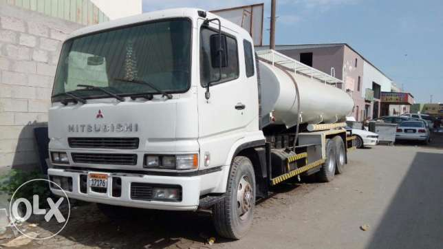 Non drinking water tanker