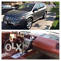 Nissan Murano V6 model 2005 excellent condition only 100,000km