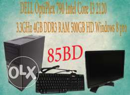 Used DELL Desktop OPTIPLEX 790 i3 for sale