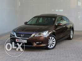 Honda Accord 4Dr Sunroof 2014