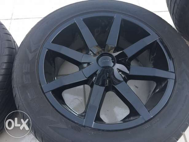 Dodge Durango Glossy Black Wheels