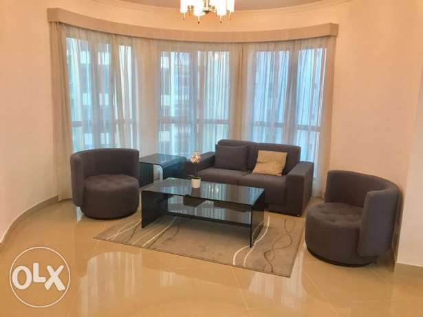 2 Bedrooms cozy apartment for rent in Amwaj Island