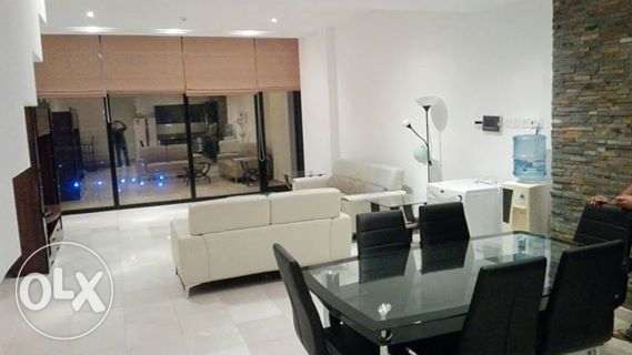 duplex fully furnished apartment with see view