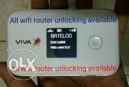 pocket wifi router unlocking available