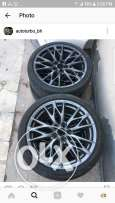 Lexus ISF Rims with tyres
