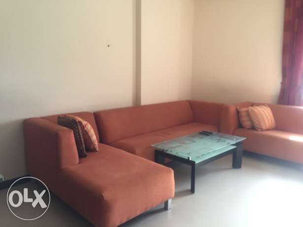 Two Bedrooms f/f apartment available in mahooz