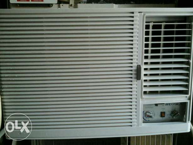 Supra window ac 2 ton good condition good cooling