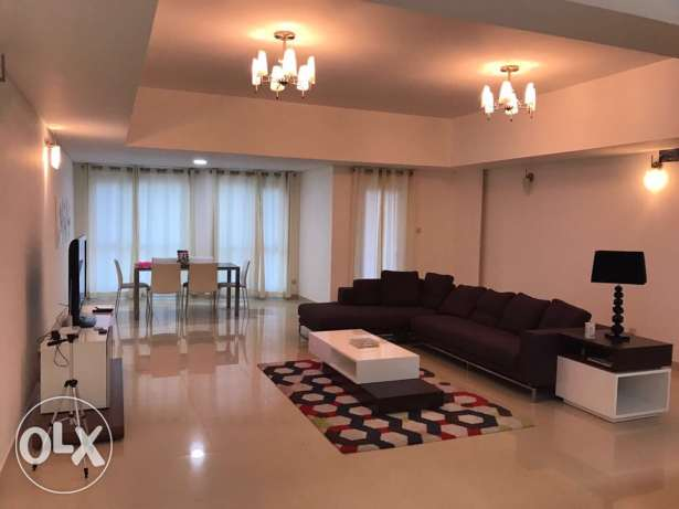 flat 2 bedroom seaview for rent in amwaj