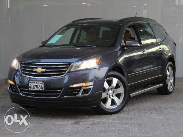 Chevrolet Traverse AWD LTZ 2014 BLUE For Sale