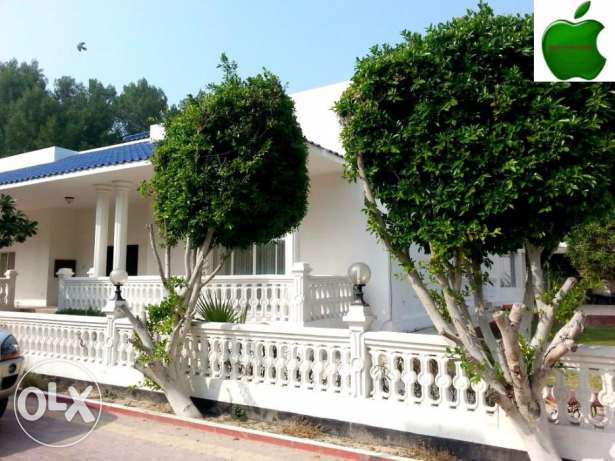 Semi Furnished specious Compound villa