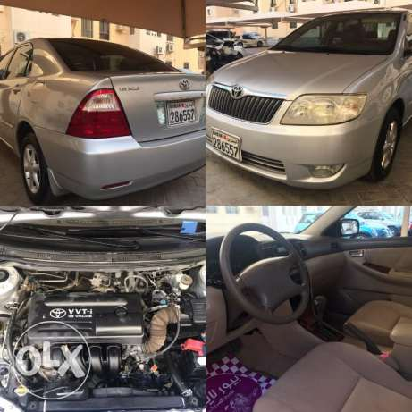 For Sale Toyota Corolla , 2500bd
