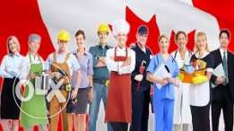 looking for workers to work and live in Canada