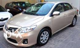 Toyota Corolla good condition 2013 model For sale