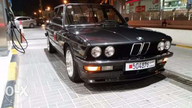 FS: 30 years old classic 1987 BMW 528e