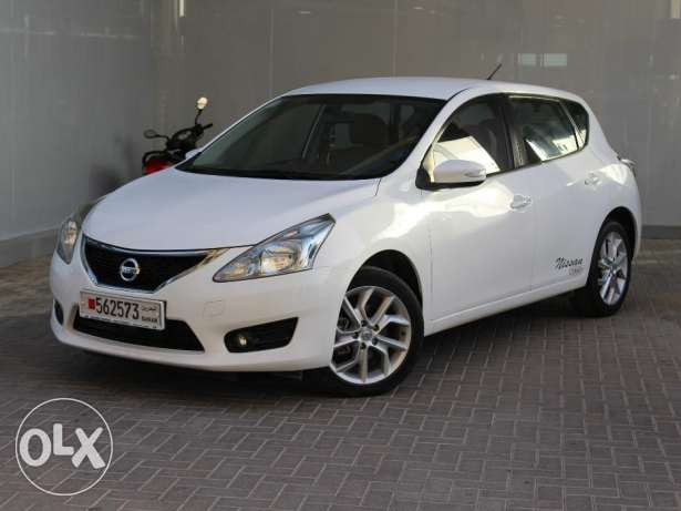 Nissan Tiida SL 1.8L Full option 2014 White For Sale