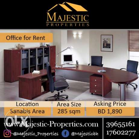 Modern Office for Rent in Sanabis Area