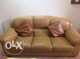 leather  sofa.3+2+1