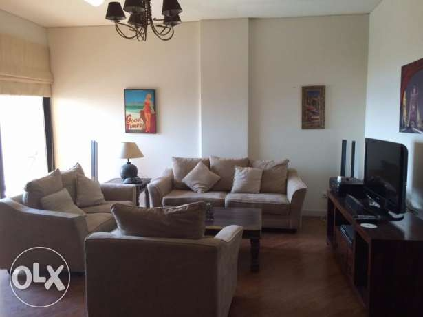 2 bedrooms apartment with decent furniture and amazing Sea views