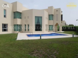 Jasra 4 Bedroom semi furnished villa with large garden,pool,etc