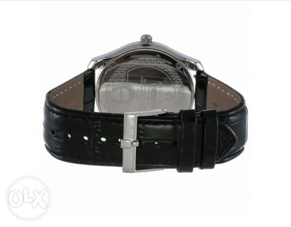 New Aigner original swiss made for men's black belt and black dial. جد علي -  4