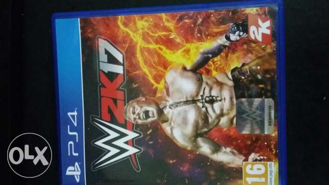 WWE2K17 for exchange or sale.