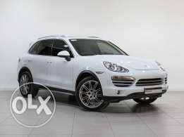 "Porsche Cayenne Platinum Edition ""Approved"" 2014MY"