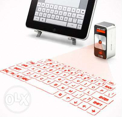 virtual laser keyboard for ipad,mobile phone and tablet