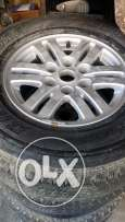 Tyres with Rims for Mitsubishi pajero Sports